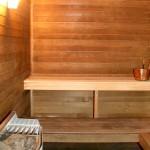 Eine Sauna für zuhause